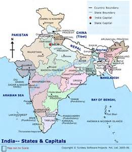 Indian States Map by Pics Photos India Map With States And Capitals