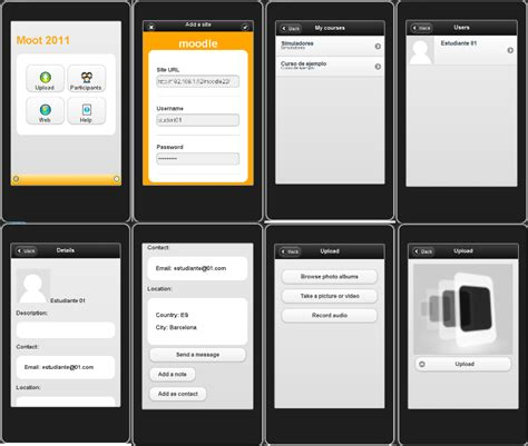 mobile app for android moodle in unofficial clone of the moodle mobile app for android and blackberry