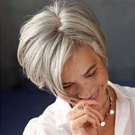 funky hairstyle for silver hair hair gray hair archives wehotflash