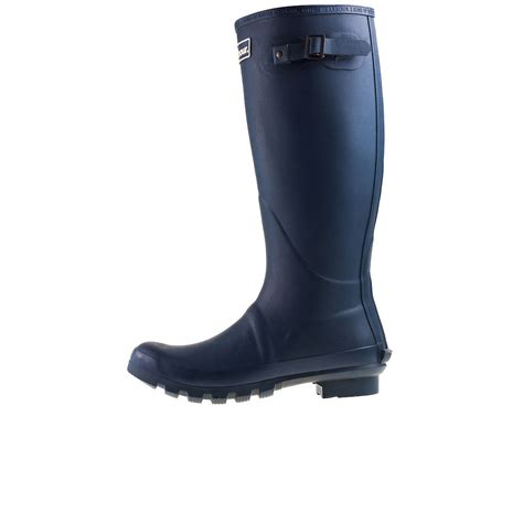 barbour bede mrf0010ny71 mens wellington boots in navy
