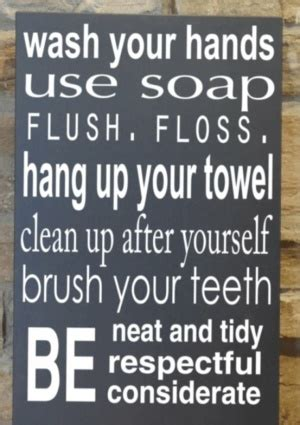sayings for bathroom signs kids bathroom do it yourself pinterest kid bathrooms
