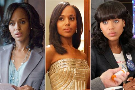 hair style in scandal kerry washington s hair evolution as olivia pope on scandal