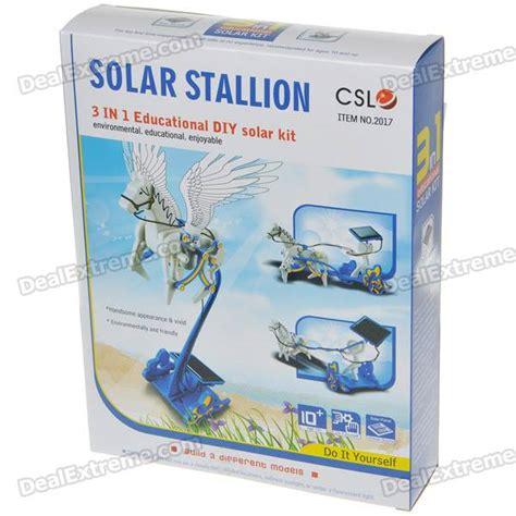 New Arrival Ia025 Solar Stallion 3 In 1 Pegasus Robot Diy 3 in 1 educational diy solar stallion assembly kit