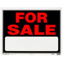 Lowes Christmas Outdoor Decorations Shop Hillman 15 In X 19 In For Sale Sign At Lowes Com