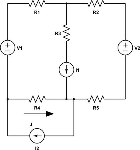 resistor superposition circuits problem how do i use superposition to solve a circuit electrical engineering stack exchange