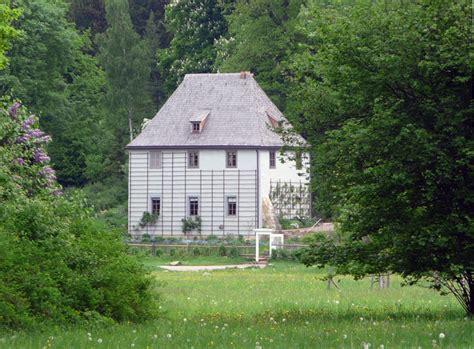 garten weimar deutschland lese goethes gartenhaus