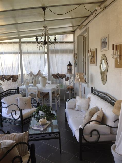 veranda shabby chic shabby amenagement veranda creation shabby chic