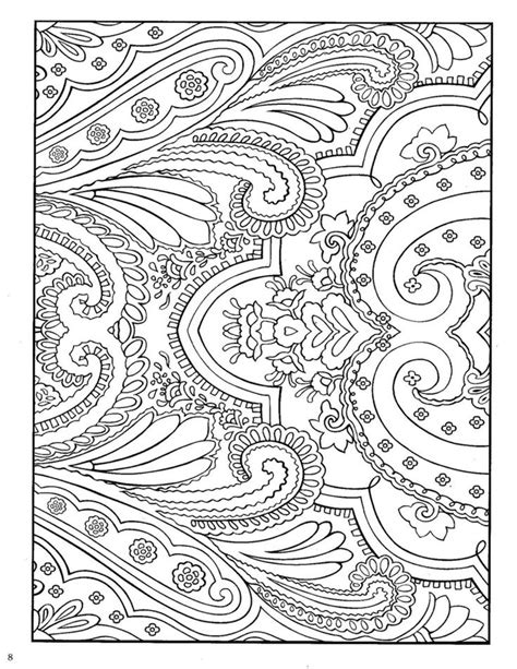 coloring pages of animals with designs paisley design coloring pages animals via anja klarin