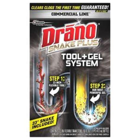 drano 16 oz snake plus kit 622673 the home depot
