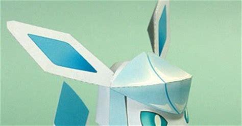 Glaceon Papercraft - ninjatoes papercraft weblog papercraft pok 233 mon glaceon v 4