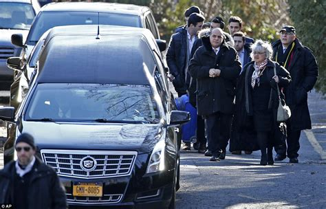 mourners gather for funeral just a day after a beloved new