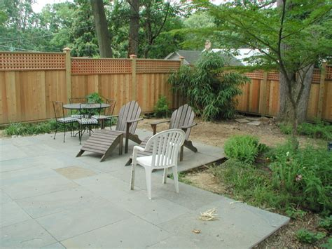 custom privacy fence traditional patio dc metro by