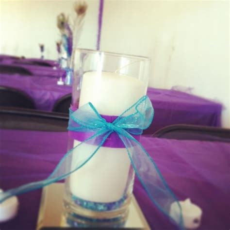 purple and turquoise wedding centerpieces 25 best turquoise centerpieces ideas on
