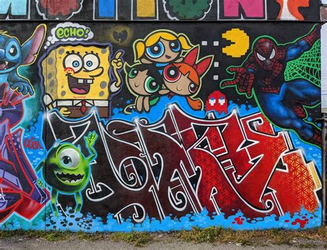 walls graffiti pictures bombing science