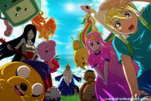 adventure time anime adventure time with finn and