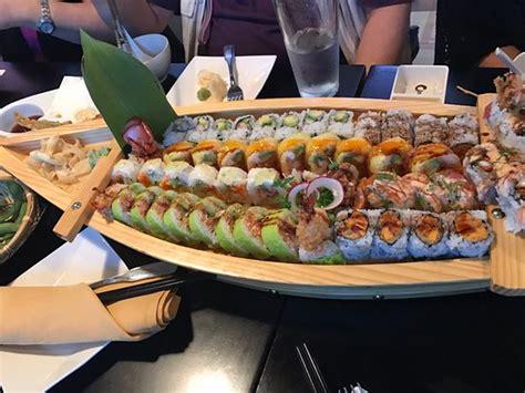 boat sushi sushi boat picture of fumi hibachi sushi bar duluth