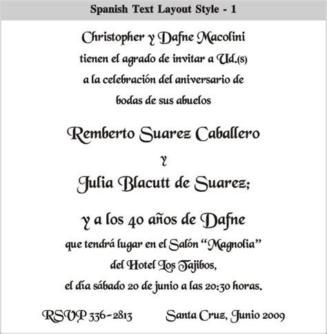 top compilation of wedding invitations in spanish