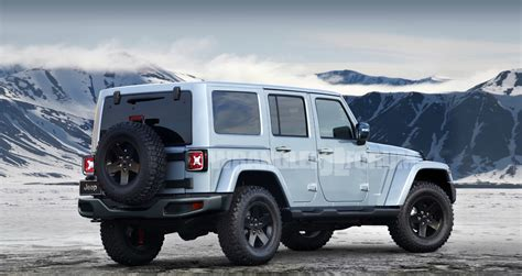 2018 Jeep Wrangler Forum by 2018 Jeep Wrangler Jl Rendered Page 3 Wrangler Jl Forum
