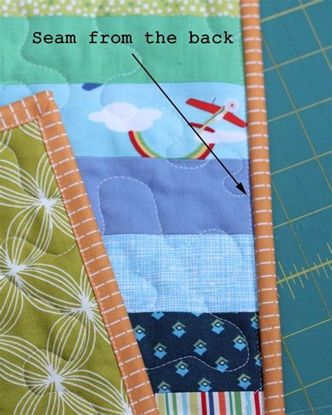 Line Machine Quilting Tutorial by 1000 Images About A Quilting Binding On
