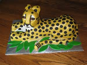 cheetah decorations cheetah cakes decoration ideas birthday cakes