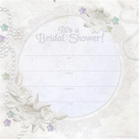 bridal shower invitation template 99 wedding ideas