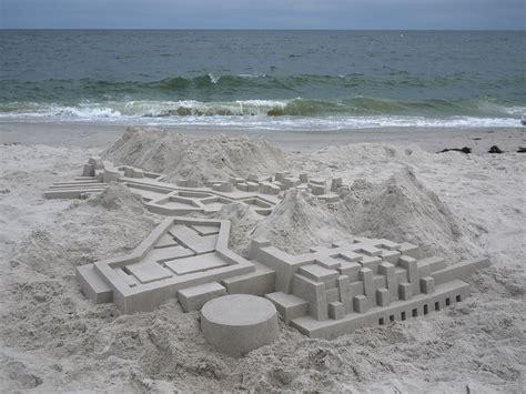 bensozia calvin seibert s sand castles this artist builds sand castles with a modernist flair