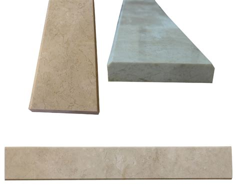 beige marble both sides polished saddle threshold 4 quot x36 quot traditional wall and floor tile