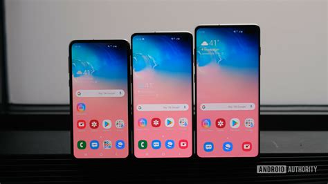 Samsung Galaxy S10 And S10e by Samsung Galaxy S10 Phones Support Netflix Hdr10 Android Authority