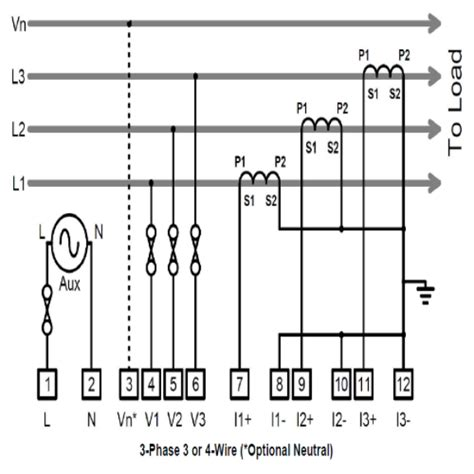 kwh meter connection diagram free wiring
