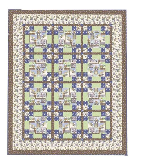 Flannel Quilt Kit by Snow Much Flannel Quilt Kit Henry Glass Hingeley