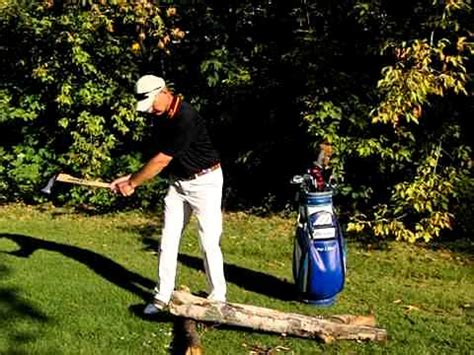 start golf swing with hips golf tip axe trill perfect golf swing feeling hands