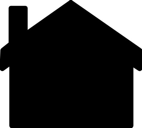 House Silhouette Clip Art At Clker Com Vector Clip Art Online Royalty Free Public