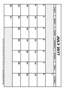 Printable July 2017 Calendar July 2017 Calendar Amp August 2017 Calendar