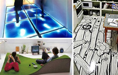 Step It Up: 15 Creatively Funky Floors & Flooring Designs