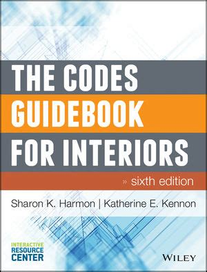 study guide for the codes guidebook for interiors books wiley the codes guidebook for interiors 6th edition