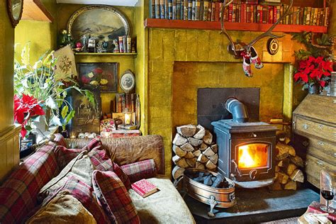 Cosy Christmas Living Rooms Period Living