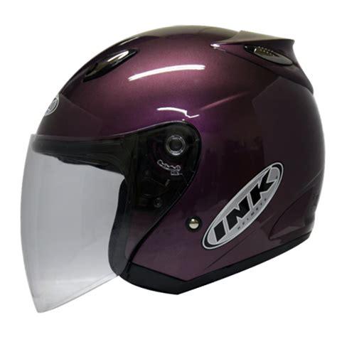 Helm Gm Centro centro jet solid purple jual helm purbalingga