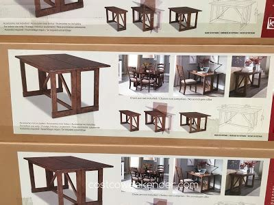 klaussner multifunctional table 639057 klaussner home furnishings multifunctional table costco