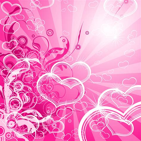 pink designs pretty pink backgrounds abstract pink hearts