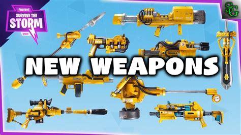 fortnite new fortnite new weapons heros llamas drops of