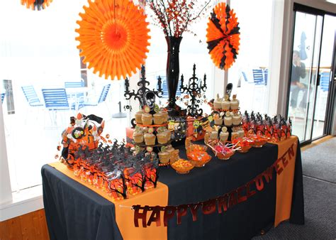 halloween themed decorations le fleur couture halloween themed baby shower