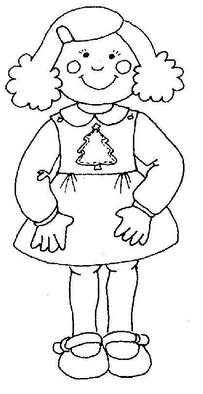 coloring page of little girl little girl coloring pages getcoloringpages com