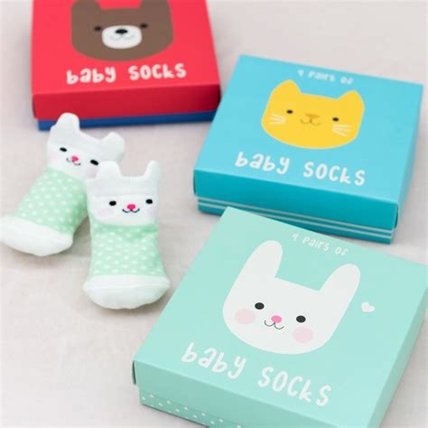 Baby Set Of 4 Socks bonnie the bunny design baby socks set of 4 rex