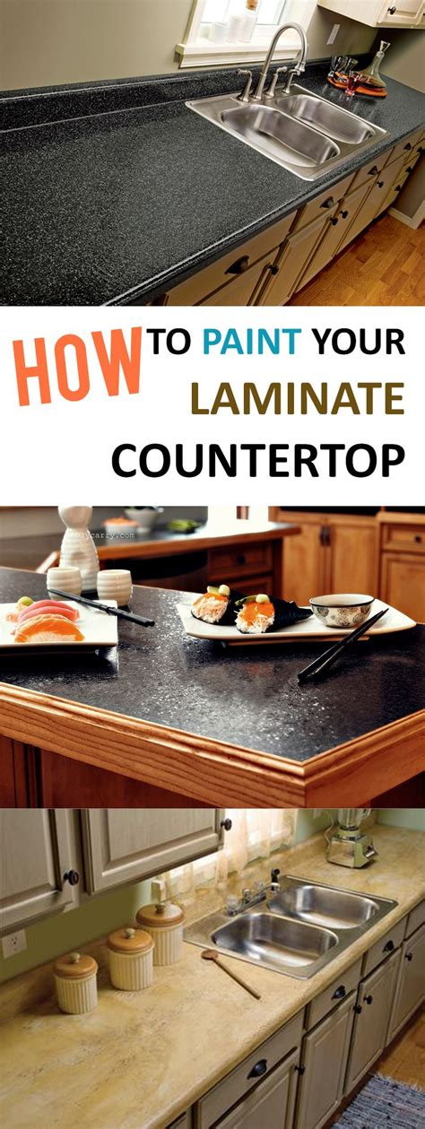 How To Transform Laminate Countertops by 25 Best Ideas About Painting Laminate Countertops On