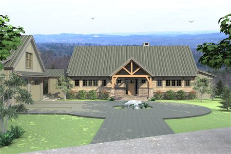 Single Story Floor Plans The Ashuelot Lodge Single Level A Frame House Plans
