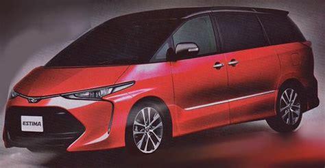 2016 Toyota Previa/Estima facelift   new interior pics