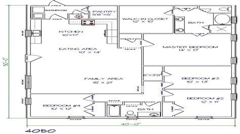 house plan 40 x 50 house plans 40 x 50 house floor plans
