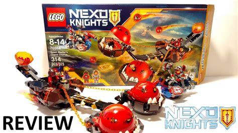 Exklusif Lego 70314 Nexo Knights Beast Master S Cha Diskon lego nexo knights beast master s chaos chariot review 70314