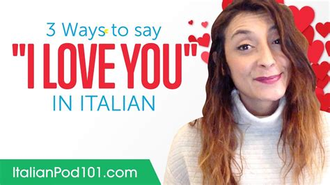 how do you say in italian three ways to say quot i you quot in italian