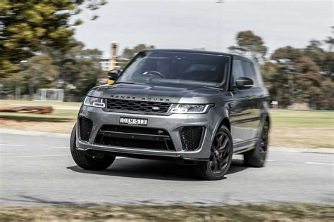 2019 Range Rover Sport by 2019 Range Rover Sport Svr Performance Review